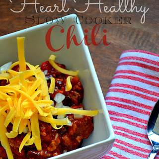 Heart-Healthy Slow Cooker Chili.