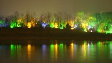 Photo: Lights along the Li River