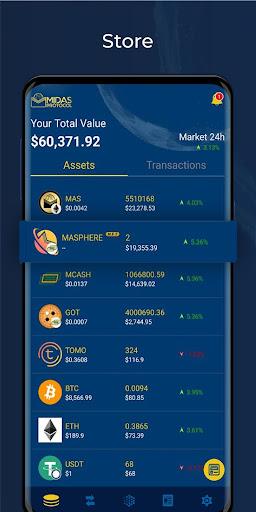 Midas Protocol - Crypto Wallet: Bitcoin, Ethereum 1.6.10 screenshots 4