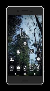 Shiroimono icon pack Apk v3 Android 5