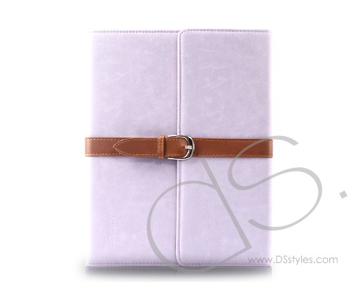 Photo: Armor Series iPad 2 New iPad Flip Leather Cases - Light Purple http://bit.ly/Px5TyC