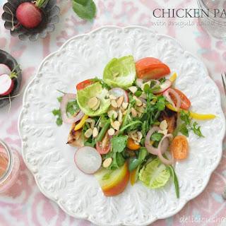Chicken Paillard with Arugula Salad