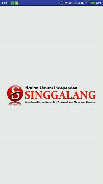 Singgalang- screenshot