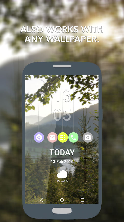 Marbles for KLWP- screenshot