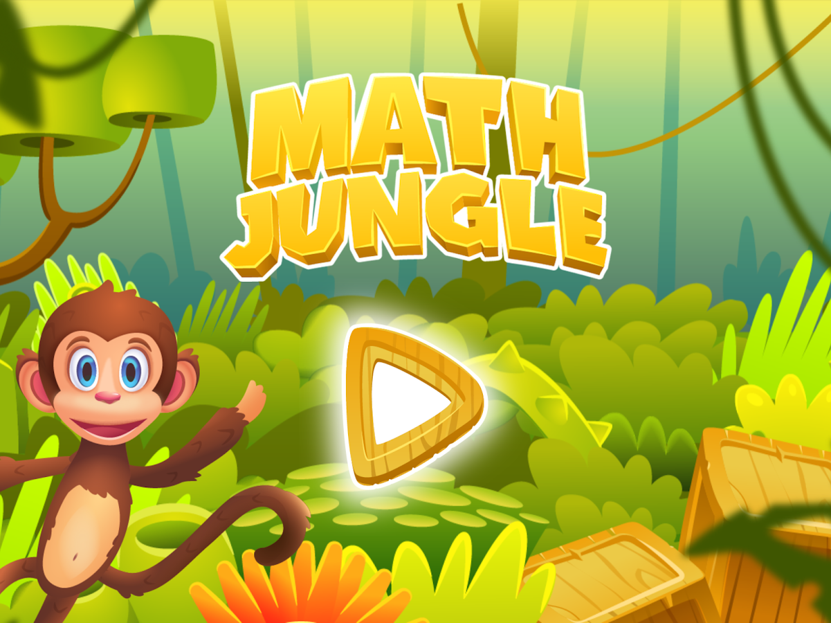 Math Jungle : 1st Grade Math- screenshot