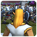 Crowd Medieval City War icon