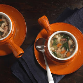 Tuscan Kale and White Bean Soup.
