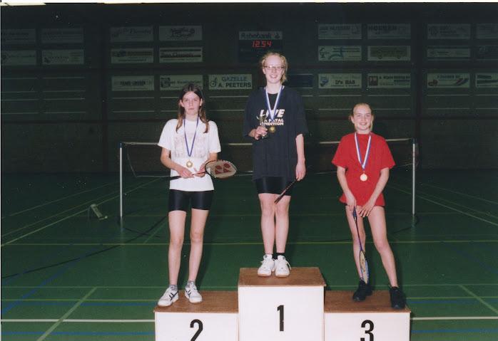 Clubkampioenschappen jeugd 2004