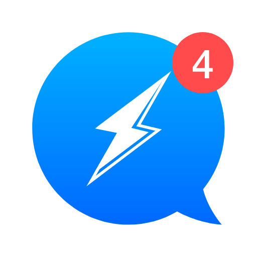 The Messenger App: Free for message & chat Icon