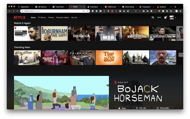 Netflix Item Remover