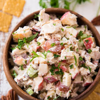 Waldorf Tuna Salad Pitas.