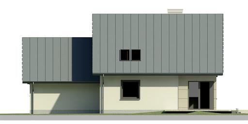 Dom przy Cyprysowej 24 - Elewacja tylna