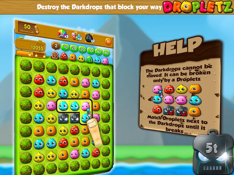 Скриншот Dropletz