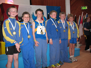 Photo: Tipperary Boys U/12 4 x 100m Relay team from Moycarkey Borris who came 4th in the National Community Games Finals 2011