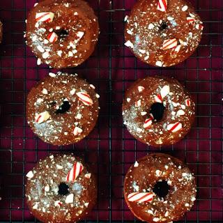 Low FODMAP Chocolate Doughnuts.