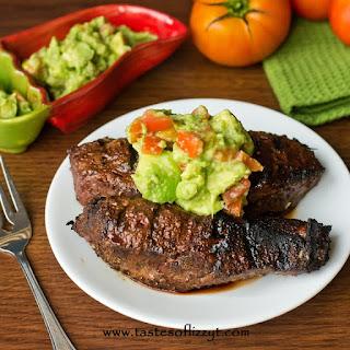 Mexican Steak & Avocado Salsa