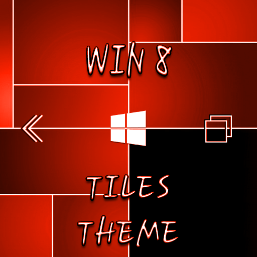 Win8 Red Tiles XZ Theme 個人化 App LOGO-APP開箱王