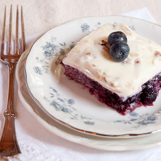Blueberry Jello Salad.