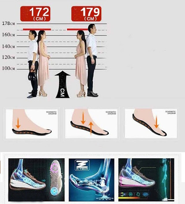 Giày tăng chiều cao da bò TC08 -3