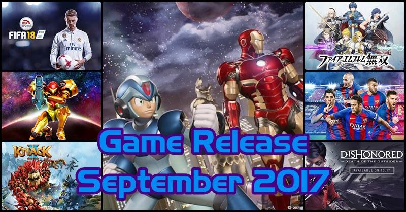 [Game Release] เกมเด็ด! เดือนกันยายน 2017