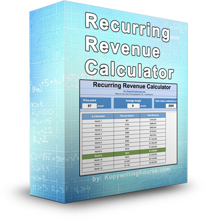 Monthly Recurring Revenue Calculator (with spreadsheet and common
