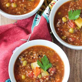 Quinoa Vegetable Soup.