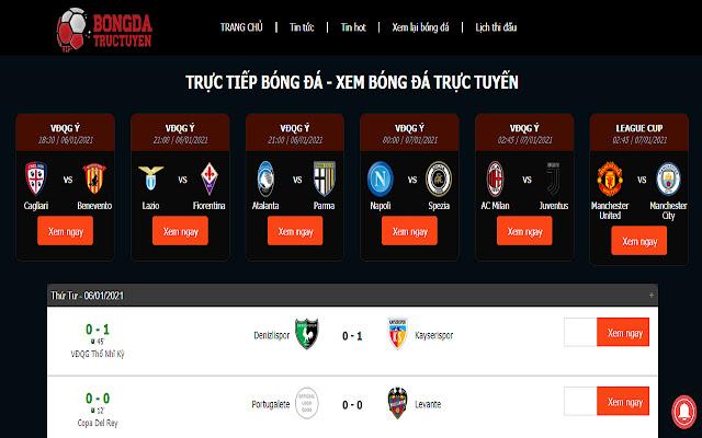 Vatvo TV - Trực tuyến bóng đá K+ hôm nay