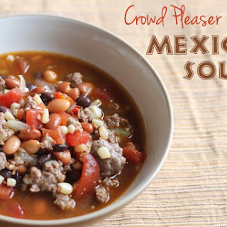Crowd Pleaser Mexican Soup.