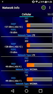 Network Info - náhled