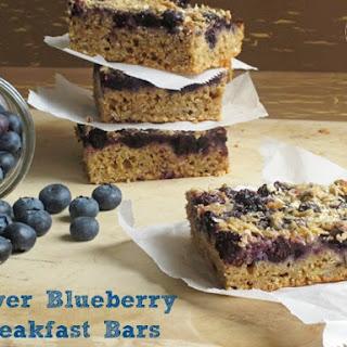 Power Blueberry Breakfast Bars
