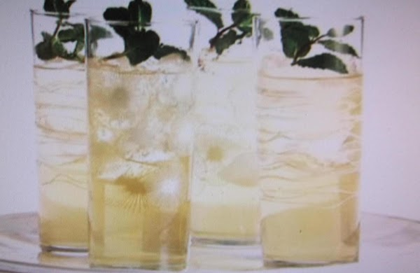 Minted Punch ( Nonspiked ) Recipe