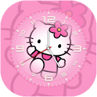 Kitty Clock Live Wallpaper icon