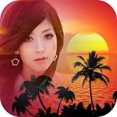 Sunset Photo Frames Editor