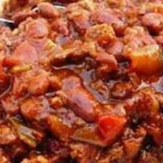 Slow Cooker Award Winning Chili.