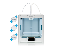 Ultimaker S5 3D Printer - 3 Year Warranty Protection