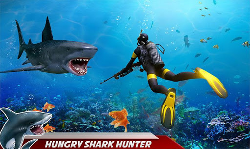 Angry Shark Attack: Deep Sea Shark Hunting Games 1.1 screenshots 1