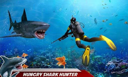Angry Shark Attack: Deep Sea Shark Hunting Games 1