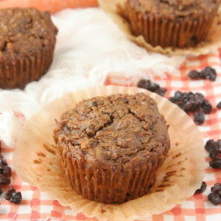 Grain-Free Carrot Cake Muffins