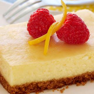 Lemon Cheesecake Bars.