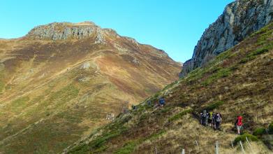 Photo: op naar Puy de Peyre Arse (1806m)