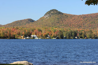 Photo: Lake Groton in the fall at Boulder Beach State Park by Lene Gary