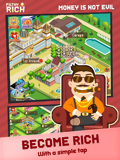 Filthy Rich - Money isn't evil - screenshot