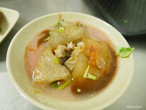 彰化必吃美食肉圓庫大竹肉圓║50年老店,在地人必吃外皮Q彈內餡香美味肉圓~招牌菜肉圓、香腸、綜合湯。