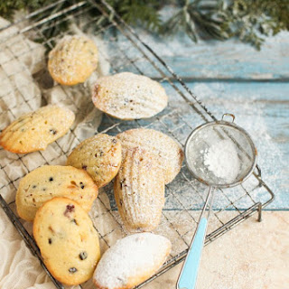 Christmas Stollen Madeleines with Preserved Lemon