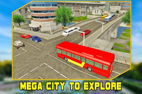 Bus Driving : City Simulator screenshot