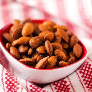 Spicy Slow Cooker Almonds.