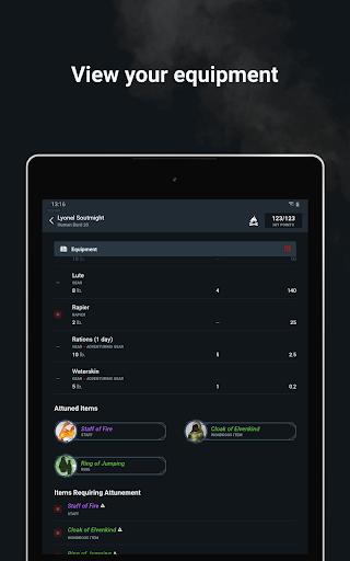 D&D Beyond Player Tools screenshot 13