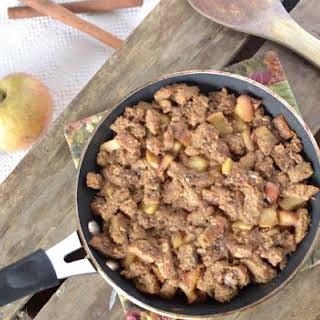 Skillet Cinnamon-Apple Bread Pudding.