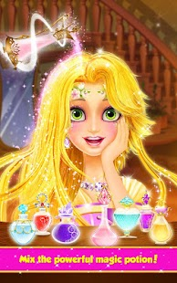 Long Hair Princess Hair Salon- screenshot thumbnail