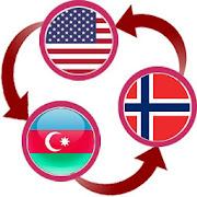 US Dollar To Azerbaijani Manat and NOK Converter